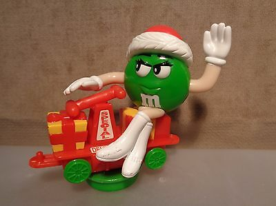 GREEN M&M ON Christmas Train Series 1 Car