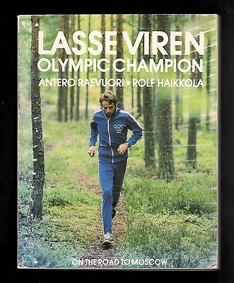 >Scarce 1978 LASSE VIREN OLYMPIC CHAMPION Road to Moscow Track & Field Biography