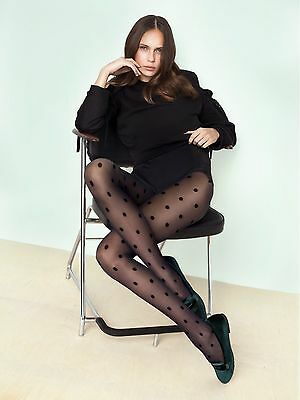 FIORE Encore Luxury 20 Denier Polka Dot Patterned Tights - 2 Colours Available