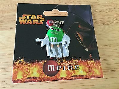 ***RARE/VINTAGE*** 2005 STAR WARS M & M Green Girl Mpire Pin