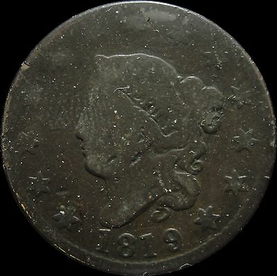 1819 Coronet Head Large Cent A11162