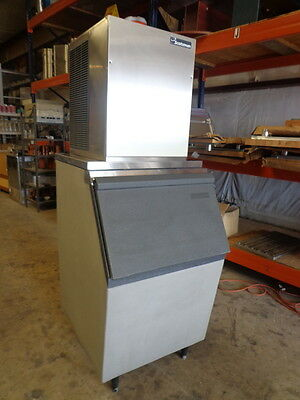 """Scotsman 600Lb. Air-Cooled """"nugget"""" Ice Machine With Bin Adapter (No Bin)"""