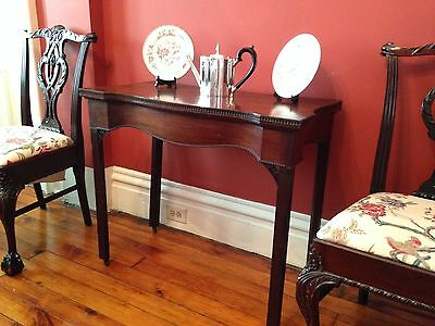 Circa1780 HEPPLEWHITE card table JOHN TOWNSEND, NEWPORT R.I Chippendale mahogany
