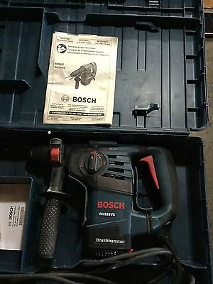 """Bosch Tools 1-1/8"""" SDS-Plus Rotary Hammer Drill RH328VC Great Condition !"""