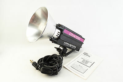 White Lightning Ultra 1200 Monolight Strobe Head by Paul C Buff Inc. (V4736)