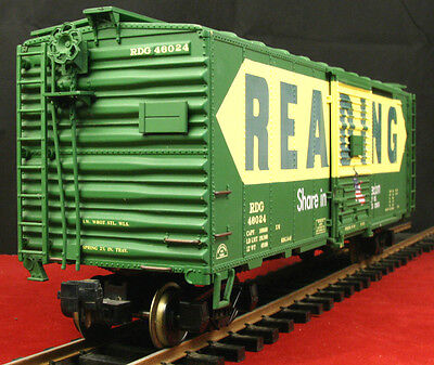 ARISTOCRAFT ARISTO CRAFT ART 46024 Reading 40' Box Car G Scale