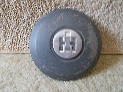 VGT ORIGINAL 1960s INTERNATIONAL HARVESTER STEERING WHEEL HORN BUTTON RAT ROD