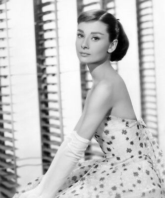Funny Face Audrey Hepburn (In A Givenchy Evening Gown) 1957 Print (16 x 20)