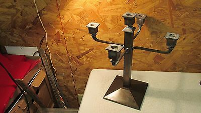 Antique Bardley & Hubbard Mission Candleabra