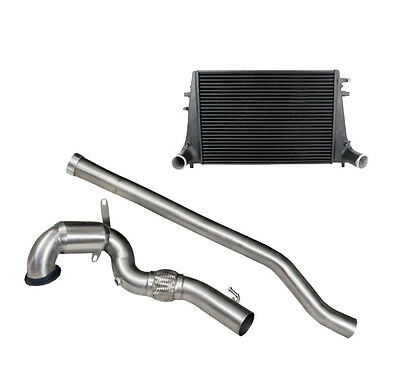 VW46COMBO Cobra Sport VW Golf R Mk7 Front Pipe / sport cat Exhaust & Wagner Tuni