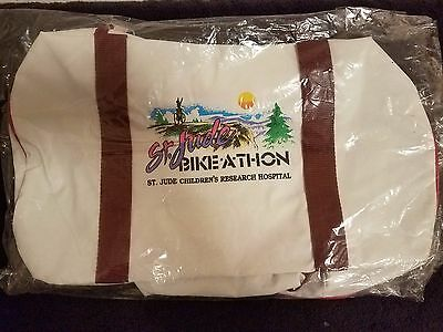 Collectible St. Jude Children's Hospital Bike-A-Thon Duffle Bag - New