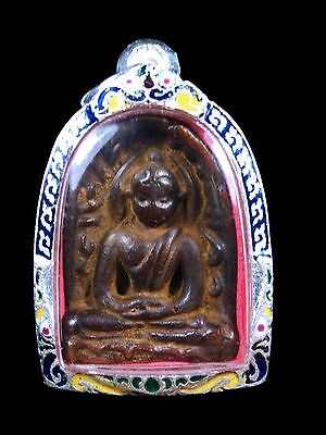Excellent PHRA SOOMKOR in Benjapakee Old Thai Buddha Amulet