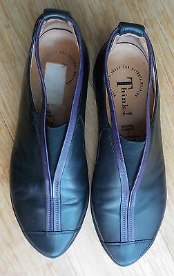 ���� Think Leather Natural Walking Shoes //  Size 38.5 ����