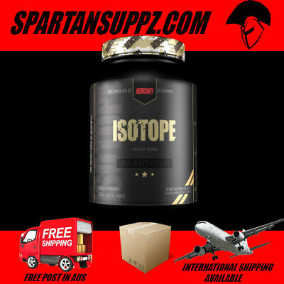 Redcon1 ISOTOPE WPI Protein Recovery Muscle Growth Powder 900g 30 Serves | Whey