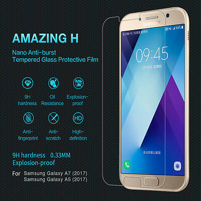 For Samsung Galaxy A5 A7 2017 Genuine Nillkin Tempered Glass Screen Protector