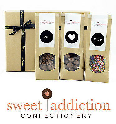 Sweet Addiction Premium Chocolate Mother's Day Gift Hamper Box - We Love Mum