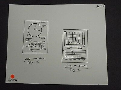 Disney's Kim Possible Animation Production Model VISUAL and GRAPH Copy Art #04