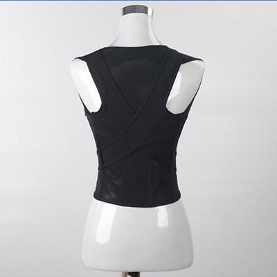 NEW Shoulder Back Lumbar Posture Corrector Belt Therapy Support Correction Brace