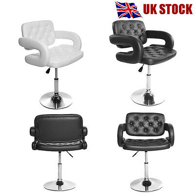 Panana Adjustable Leather Salon Stool Barber Beauty Hairdressing Chair UK