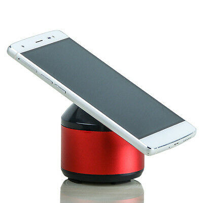 Mini Bluetooth Portable Hands-Free Speaker With Easy Phone Stand Red