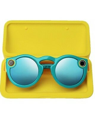 Spectacle Snapchat Teal - Light Blue