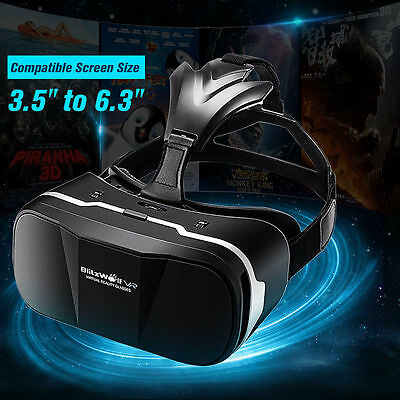 "BlitzWolf BW-VR3 3D VR Glasses Virtual Reality Headset 3.5"" to 6.3"" Mobile Phone"