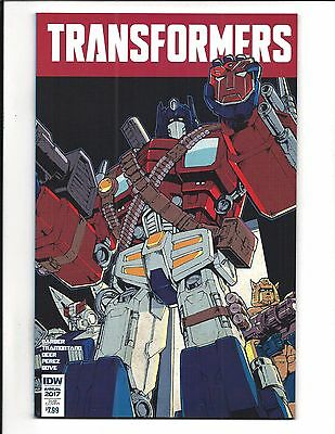 Transformers Annual 2017 (Idw, Sub-Cover, Feb 2017), Nm New