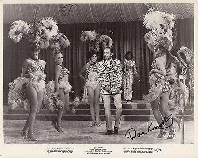 DON KNOTTS hand-signed THE LOVE GOD 8x10 authentic w/ coa FUNNY ORIG '69 SCENE