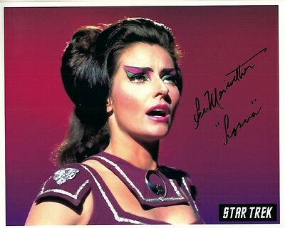 LEE MERIWETHER hand-signed STAR TREK 8x10 authentic w/ coa GREAT COLOR CLOSEUP