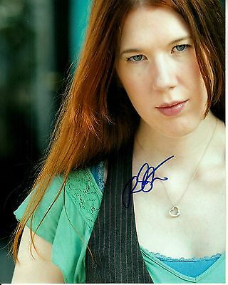RACHEL STYLE hand-signed FANTASTIC OUTDOOR 8x10 color closeup UACC RD COA proof