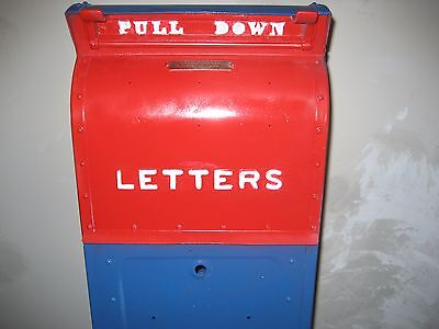 Old post office mail box