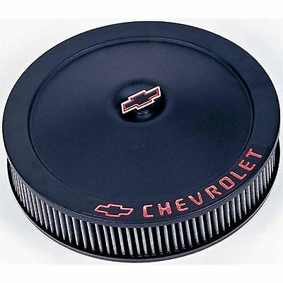 "Proform  Chevy 14"" Black Crinkle Air Cleaner 141-752"