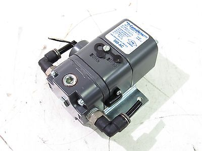 Control Air 500X I/p Transducer In 4-20Ma Out 3-15Psig Supply 18-100Psig *xlnt*