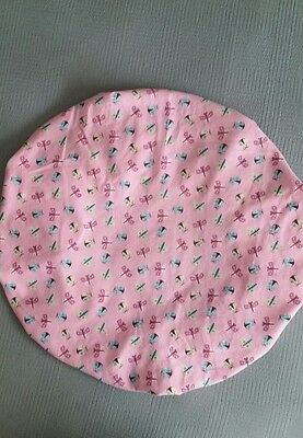 """Baby Boppy Newborn Lounger Pillow Cover in """"Ladybugs & Butterflies"""" Pattern~NEW"""