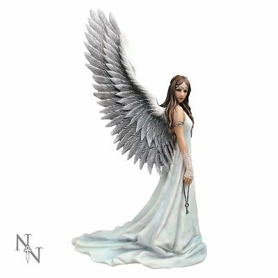 Nemesis Now Spirit Guide Beautiful Angel Figurine Statue by Anne Stokes - New