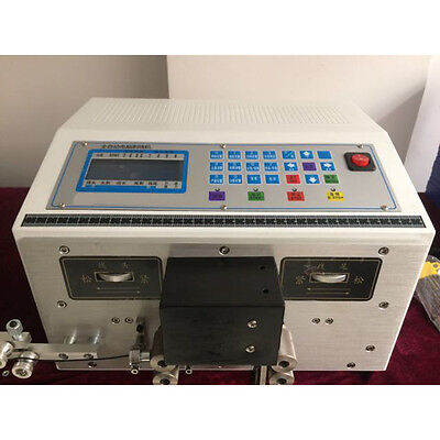 MT8 Auto Computer Double Wire Peeling Stripping Machine Cable Cutting 0.1-2.5mm²