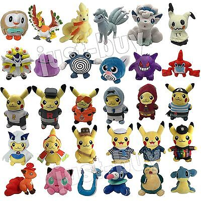 Pokemon GO 2017 Plush NEW Character Soft Toy Stuffed Animal Doll Teddy