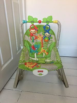 Fisher Price Rainforest Infant To Toddler Rocker Baby Bouncer