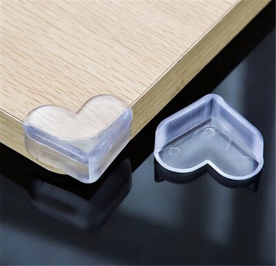 2 x Baby Kids Safety Silicone Anti-Crash Protector Table Corner Edge Protection