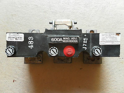 GE General Electric TJK636T600 600A Trip Unit for TJK Circuit Breaker 600 Amp