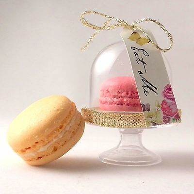 Mini macaroon / macaron dome stand - unique wedding favours & table decorations