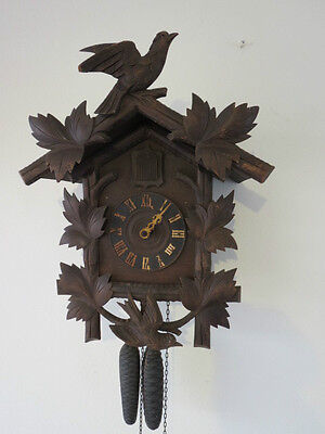 Large Antique Blackforest Cuckoo Clock For Spares Repair