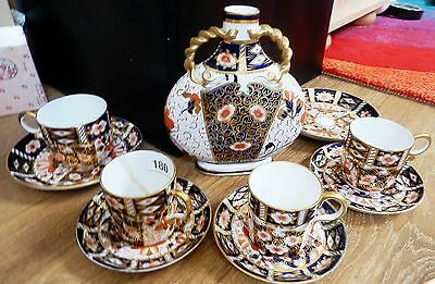 Royal Crown Derby and Davenport Imari pieces  pattern 2451 10 pieces mostly dama