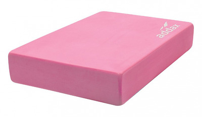 Addax Full Yoga Block - Pink