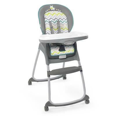 Gray High Chair Ingenuity Trio 3-in-1 Ridgedale Grey Booster Toddler Seat NEW