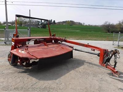 New Holland 1412 10' Disc Bine Mower For Tractors, Pin Hitch, Hydraulic Tounge
