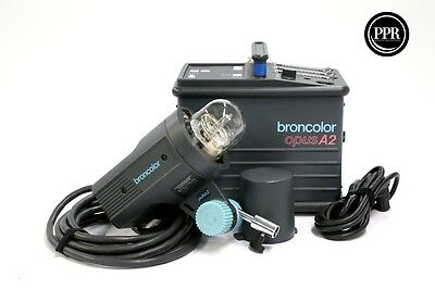 Broncolor Opus A2 1600Ws  Power Pack With Pulso 2 Strobe Head Lighting Kit