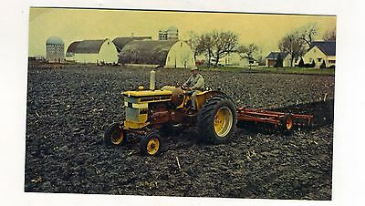 Vintage Minneapolis Moline MM Mighty M-602  Tractor Advertising Postcard Farm