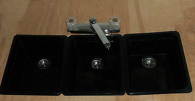 Concession Stand Sinks/ Trailer Sinks / Sinks For (3) Compartment