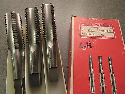 "**MAKE OFFER**  (1) NEW  ~LEFT HAND~ HSS, 1""-8  Hand Taps  *USA*  LH"